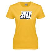 Ladies Gold T Shirt-AU