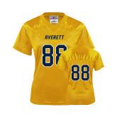 Ladies Gold Replica Football Jersey-#88
