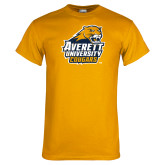 Gold T Shirt-Primary Mark Distressed