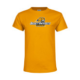 Youth Gold T Shirt-Averett University Cougars