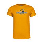 Youth Gold T Shirt-Averett University Cougars