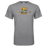 Grey T Shirt-Averett University Cougars