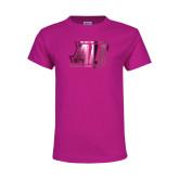 Youth Fuchsia T Shirt-AU  Foil