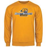 Gold Fleece Crew-Averett University Cougars