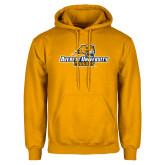 Gold Fleece Hoodie-Averett University Cougars