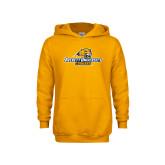 Youth Gold Fleece Hoodie-Averett University Cougars