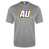 Performance Grey Heather Contender Tee-AU
