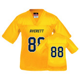 Youth Replica Gold Football Jersey-#88