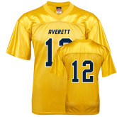 Replica Gold Adult Football Jersey-#12