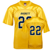 Replica Gold Adult Football Jersey-#22