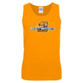 Gold Tank Top-Averett University Cougars
