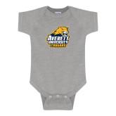 Grey Infant Onesie-Primary Mark