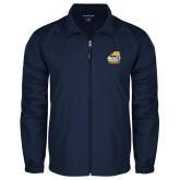 Full Zip Navy Wind Jacket-Primary Mark