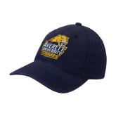 Navy OttoFlex Unstructured Low Profile Hat-Primary Mark