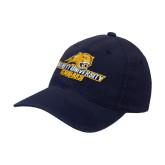 Navy OttoFlex Unstructured Low Profile Hat-Averett University Cougars
