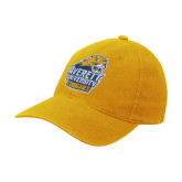 Gold Flexfit Mid Profile Hat-Primary Mark