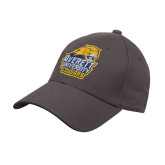 Charcoal Heavyweight Twill Pro Style Hat-Primary Mark