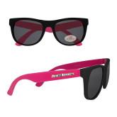 Black/Hot Pink Sunglasses-Averett University