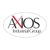 Medium Decal-AXIOS Industrial Maintenance, 8.5 inches wide