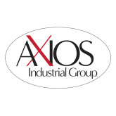 Large Decal-AXIOS Industrial Maintenance, 5 inches wide