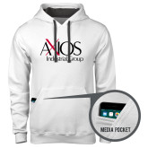Contemporary Sofspun White Hoodie-AXIOS Industrial Group