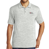 Silver Electric Heather Polo-AXIOS Industrial Maintenance