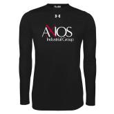 Under Armour Black Long Sleeve Tech Tee-AXIOS Industrial Group