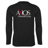 Performance Black Longsleeve Shirt-AXIOS Industrial Group