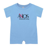 Light Blue Infant Romper-AXIOS Industrial Group