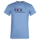 Light Blue T Shirt-AXIOS Industrial Maintenance