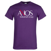 Purple T Shirt-AXIOS Industrial Group