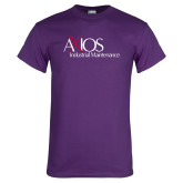 Purple T Shirt-AXIOS Industrial Maintenance