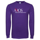 Purple Long Sleeve T Shirt-AXIOS Industrial Maintenance