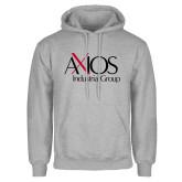 Grey Fleece Hoodie-AXIOS Industrial Group