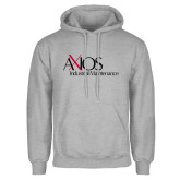 Grey Fleece Hoodie-AXIOS Industrial Maintenance