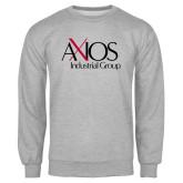 Grey Fleece Crew-AXIOS Industrial Group