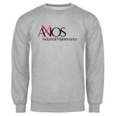 Grey Fleece Crew-AXIOS Industrial Maintenance