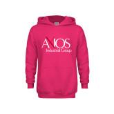 Youth Raspberry Fleece Hoodie-AXIOS Industrial Group