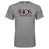 Grey T Shirt-AXIOS Industrial Group