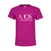 Youth Cyber Pink T Shirt-AXIOS Industrial Group