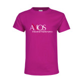 Youth Cyber Pink T Shirt-AXIOS Industrial Maintenance