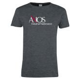 Ladies Dark Heather T Shirt-AXIOS Industrial Maintenance