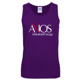 Purple Tank Top-AXIOS Industrial Group