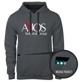 Contemporary Sofspun Charcoal Heather Hoodie-AXIOS Industrial Group