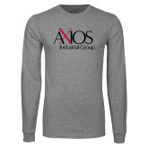Grey Long Sleeve T Shirt-AXIOS Industrial Group