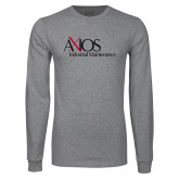 Grey Long Sleeve T Shirt-AXIOS Industrial Maintenance