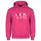 Fuchsia Fleece Hoodie-AXIOS Industrial Group