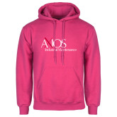 Fuchsia Fleece Hoodie-AXIOS Industrial Maintenance