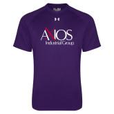 Under Armour Purple Tech Tee-AXIOS Industrial Group
