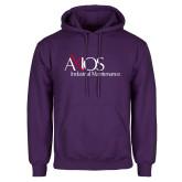 Purple Fleece Hoodie-AXIOS Industrial Maintenance